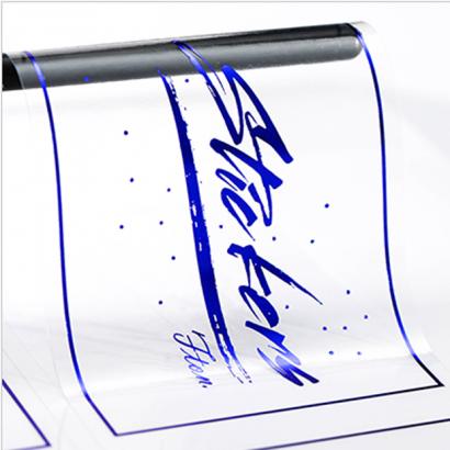 透明燙藍貼紙